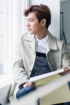 Lee Min Ho // Samsonite Red