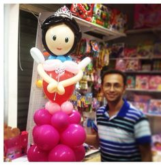 Princess balloon character #balloon #princess #character #art #sculpture #twist