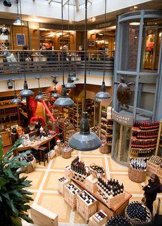 Hediard, 21 Place de la Madeleine, gastronomical boutique, Paris VIII---- one of my favorite places