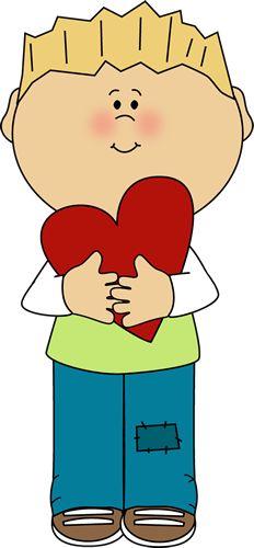 Valentine boy.