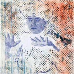Sigmar Polke, <em>Die Schere (Les Ciseaux)</em>, 1982. Dispersion et…