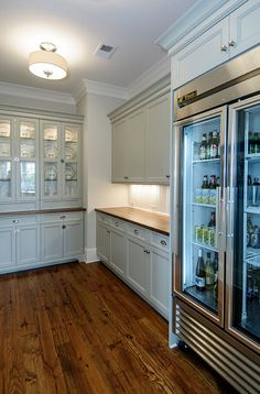 A glass door refrigerator should help you save on energy costs because no need to stand there with the door open. But also want incentive to keep it clean!