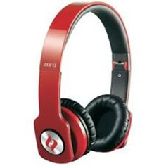 NOONTEC HIGH PERFORMANEC ZORO HD HEAD PHONE with Micro Phone RED - Promotional Offers- - TopBuy.com.au