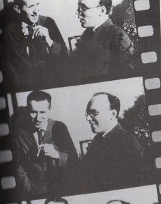 Bertolt Brecht and Kurt Weill