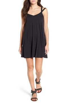RVCA 'Like It' Strappy Swing Dress available at #Nordstrom