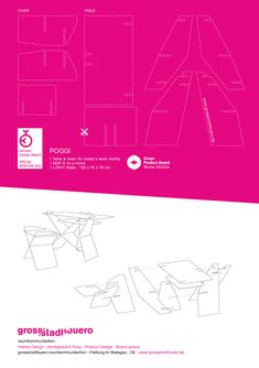 POGGI / Table and chair Workspace Design, Design Awards, Table And Chairs, Branding Design, Interior Design, Freiburg, Nest Design, Home Interior Design, Workplace Design