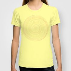 Re-Created Spin Painting No. 7 T-shirt by #Robert #Lee - $18.00 #art #spin #painting #drawing #design #circle