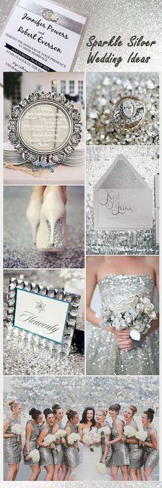 Awesome 88 Luxurious Glitter Wedding Theme Ideas https://bitecloth.com/2017/07/18/88-luxurious-glitter-wedding-theme-ideas/