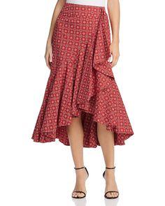 3eacf3d35 PETERSYN - Vanessa Ruffle Skirt Saia Recortada, Saia Sem Costura, Vestidos  Para Igreja,