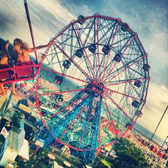 Coney Island is only a ferry ride away. Get that joy ride. #FerrisWheel