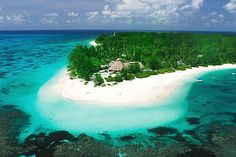 Digital free zone ... get away from everything on Denis Island, Seychelles.