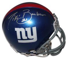 AAA Sports Memorabilia LLC - Tiki Barber New York Giants Autographed Mini Helmet, #tikibarber #newyorkgiants #giants #nygiants #nfl #nflcollectibles #autographed $109.95 (http://www.aaasportsmemorabilia.com/nfl/tiki-barber-new-york-giants-autographed-mini-helmet/)