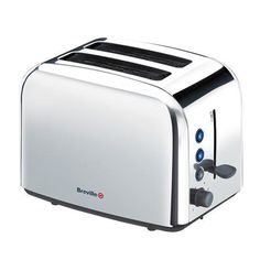 Breville 2 Slice Classic Toaster, Stainless Steel - £21 Achica