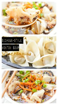 Wontons by any other name would be called...chao shou (抄手). At least that's what they call them in Sichuan province. Why not learn to make a wontons and a Sichuan-style broth this weekend? It's easier than it looks, but beware...it's packed with heat! #ChineseRecipes #spicy
