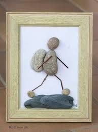 Image result for how to make pebble art