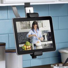 Belkin Kitchen Cabinet Mount Tablet, ipad etc. Kitchen Cabinet Drawers, Kitchen Cabinet Organization, Kitchen Storage, Kitchen Cabinets, Kitchen Appliances, Upper Cabinets, Kitchen Gadgets, Kitchen Tv, Kitchen Design