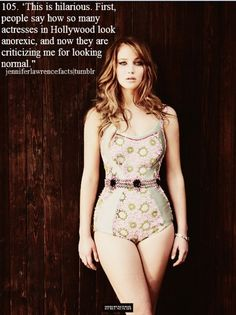 INSPIRATION - real curves real body real girl - Love Jennifer Lawrence