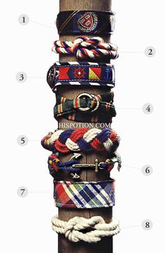 The Coolest and Trendiest Bracelets for the Modern Man. - I so want one!
