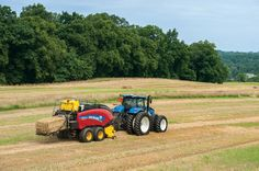 New Holland Introduces New and Tractors New Holland Ford, New Holland Tractor, Big Tractors, Ford Tractors, New Holland Agriculture, Crop Farming, Tractor Pictures, Tractor Birthday, Farm Business