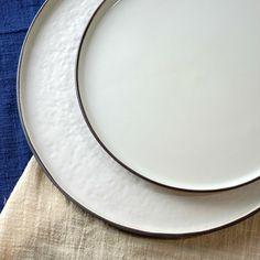 采擷舍日式陶瓷盤子粗陶西餐盤水果盤早餐盤牛排盤平盤大圓盤餐具