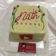@vidadoceviana já no segundo ano seguido me mandando bolo de presente  Cada dia mais lindo e gostoso  15.10