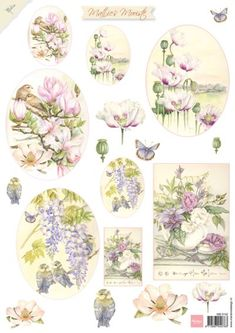 Mb0152 Mattie's Mooiste Summerflowers 1 - Mattie de Bruine A4 - Knipvellen - Hobbynu.nl