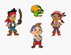 Crafting with Meek: Jake and the Neverland Pirates Svg