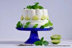 Kulinarne  pyszności  Molki: Aksamitny sernik na zimno z zieloną herbatą