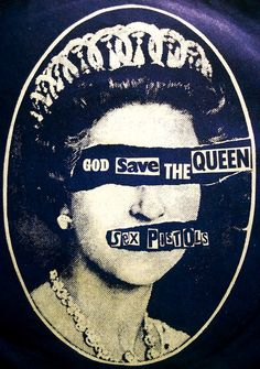 """punkpistol-seditionaries: . SEDITIONARIES Blind Queen t-shirt designed by Vivienne Westwood, Malcolm McLaren and Jamie Reid Property of PunkPistol @ www.SEDITIONARIES.com . """