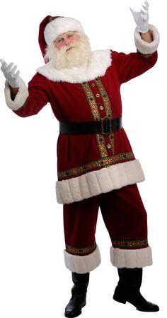 Kerstman kostuum klasse A
