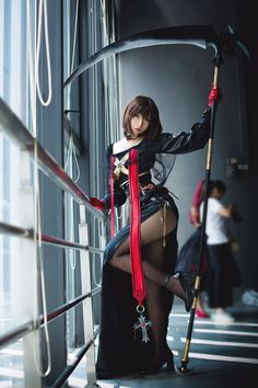 Anybody know what cos it is? Kawaii Cosplay, Cosplay Anime, Cute Cosplay, Amazing Cosplay, Cosplay Outfits, Best Cosplay, Cosplay Girls, Cosplay Costumes, Poses