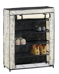 Szafka na buty DAMHUS 5 półek kremowa | JYSK, 70*34*90, 55 PLN