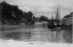 Auray ~ Vue du port - Bretagne Morbihan
