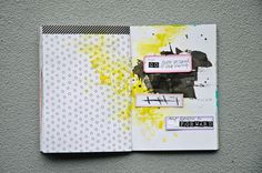 Nina is a paper nerd. | Every direction is forward | Get Messy Art Journal | http://www.ninachristensen.dk