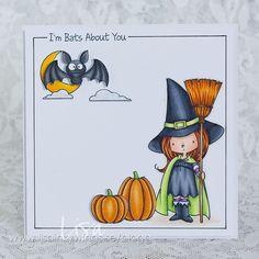 Halloween Card with MFT stamps » Lisa aka InkyWings