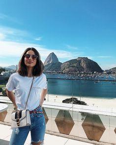 """153.2 m Gostos, 621 Comentários - Camila Coelho (@camilacoelho) no Instagram: """"Pão de Açúcar as my backdrop✌🏼 #RIO"""""""