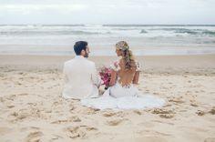 Casamento na Praia do Rosa: Victor e Talita Dal Bó