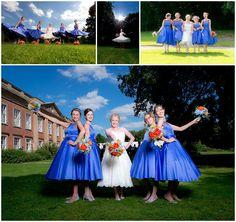 Colwick Hall Wedding 18 Bridesmaids LouLou dress