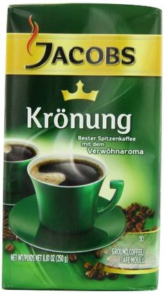 Jacobs Kronung Coffee, 8.81-Ounce Vacuum Packs (Pack of 4) Jacob's Coffee http://www.amazon.com/dp/B001GVIRCU/ref=cm_sw_r_pi_dp_9jGYub0PW64XM DO YOU NEED COFFEE???