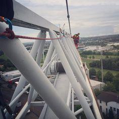 Roperescue Training on crane  Roperescue Training  #rope #rescue #roperescue #sar #srht #hrd #firefighter #firefighting #ropeacces #chemnitz #höhenrettung #höhenrettungchemnitz #germany #ropeandrescue #firerescue #searchandrescue #feuerwehrchemnitz #höhenrettungsgruppe #rockexotica #petzl #edelrid #climb #climbing
