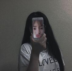 With Jimin faceu~ Mode Ulzzang, Ulzzang Korean Girl, Cute Korean Girl, Ulzzang Couple, Korean Aesthetic, Aesthetic Photo, Aesthetic Girl, Aesthetic Pictures, Korean Photo