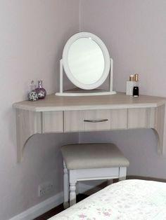 Image result for suspended corner dressing table