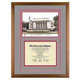 Chapman University Orange California Diploma Frame with Lithograph Art PrintBy Old School Diploma Frame Co.