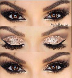 Gorgeous Makeup: Tips and Tricks With Eye Makeup and Eyeshadow – Makeup Design Ideas Makeup Eye Looks, Smokey Eye Makeup, Cute Makeup, Gorgeous Makeup, Eyeshadow Makeup, Eyeliner, Brown Eyeshadow, Gorgeous Gorgeous, Drugstore Makeup