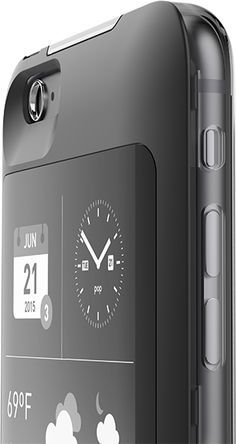 Turn the back of yor phone into a eReader, clock, live widget… So geeky! Turn the back of yor phone into a eReader, clock, live widget… So geeky! Iphone Gadgets, Tech Gadgets, Cool Gadgets, Gadgets And Gizmos, Cool Technology, Technology Gadgets, Innovation, Microsoft Cortana, Satellite Phone