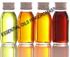 Essential oils may help to get rid of tumors. Visit www.lipomaboard.com for more info.