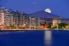 Thessaloniki // Macedonia // Greece by atha.panagiotopoulos images on Oh The Places You'll Go, Places To Visit, Macedonia Greece, Greece Islands, Thessaloniki, Island Beach, Ancient Greece, Greece Travel, Airplane View