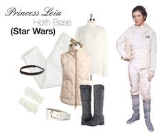 """Based on Princess Leia from Star Wars (Hoth Base)"" by kamidu ❤ liked on Polyvore featuring Joseph A, American Eagle Outfitters, Napapijri, Steven, Liz Claiborne, women's clothing, women, female, woman and misses"