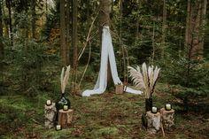Mystische Elopement-Inspiration in der Natur Fotografie: Lisa Jöchler Elopement Inspiration, Mythical Creatures, Beautiful Bride, Ladder Decor, Greenery, Outdoor Decor, Nature, Lisa, Bohemian