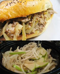 Crock Pot Granny Smith Pulled Pork